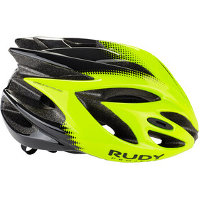 Rudy Project Rush Helmet yellow fluo/black shiny